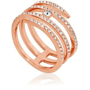 Swarovski Creativity Coil Ring